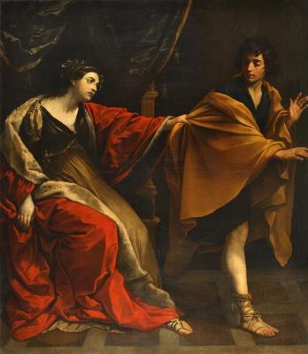 Guido Reni. Joseph and wife Pentefria