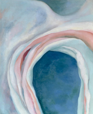 Georgia O'Keeffe. Music Pink and Blue I