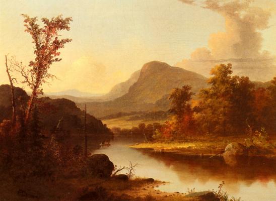 Джордж Дурри. Осенний пейзаж