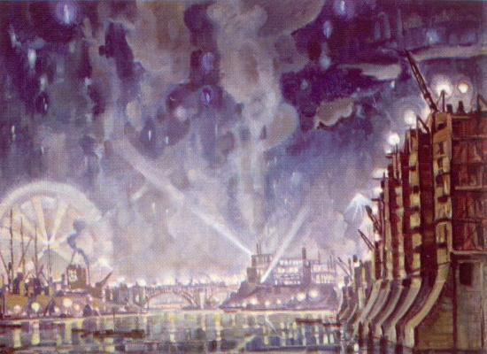 Константин Федорович Богаевский. Днепрострой