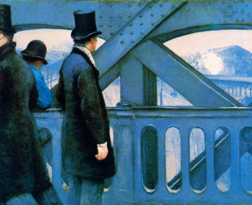 Gustave Caillebotte. European bridge