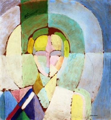 Robert Delaunay. Madame Heim