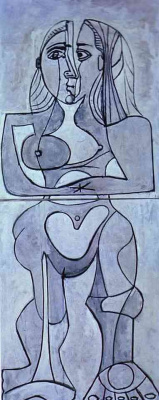 Пабло Пикассо. Монолитная обнаженная