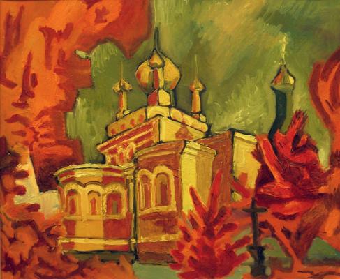 Мария Анатольевна Бородина. 0025 Красные деревья