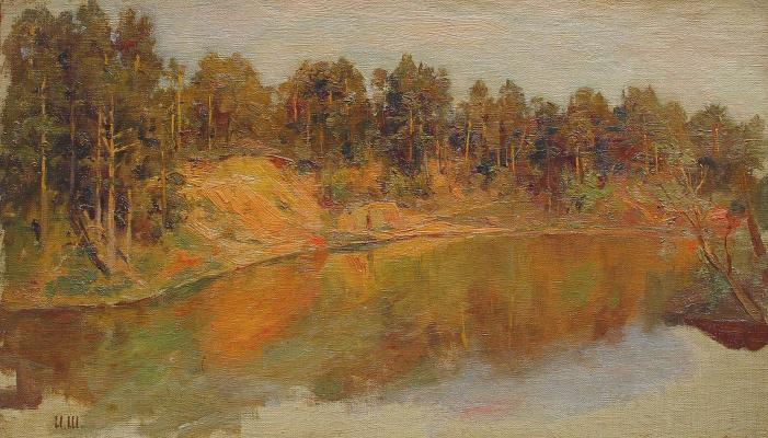 Иван Иванович Шишкин. Лесное озеро