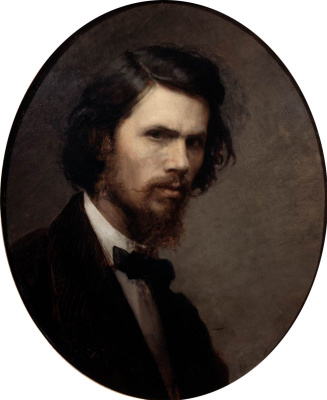 Ivan Nikolayevich Kramskoy. Self-portrait