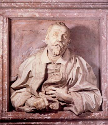 Gian Lorenzo Bernini. Physician Gabriele Fonseca