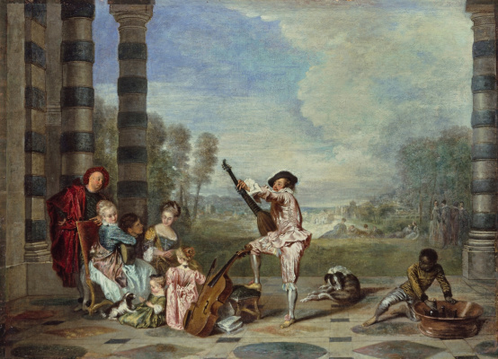 Antoine Watteau. The pleasures of life