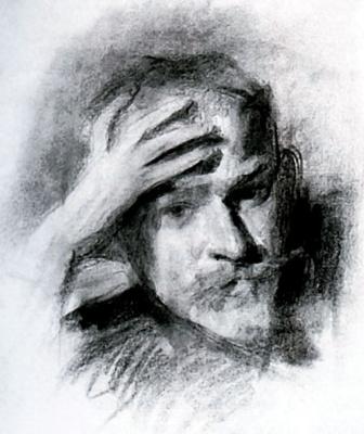 Виктор Эльпидифорович Борисов-Мусатов. Автопортрет