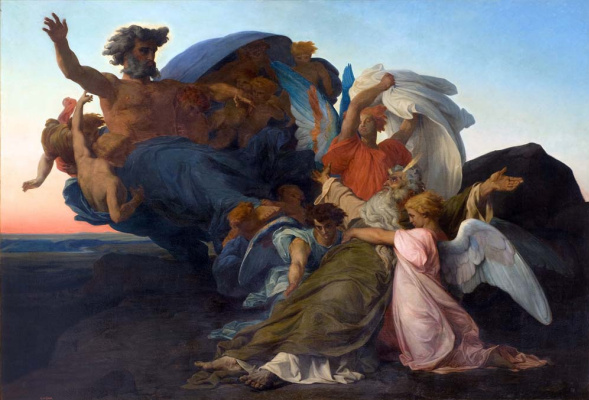 Alexandre Cabanel. The Death Of Moses