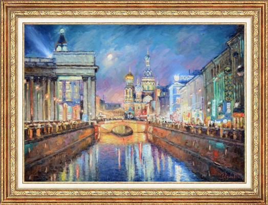 Igor Razzhivin. Evening Blues of Petersburg