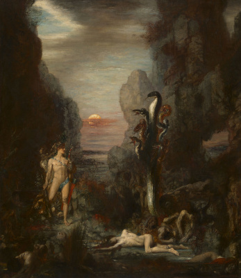 Gustave Moreau. Hercules and the Lernean Hydra