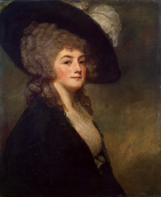 George Romney. Portrait of Mrs. Harriet Greer