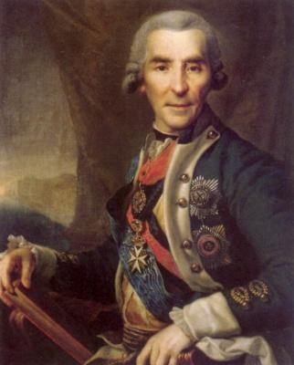 Dmitry Grigorievich Levitsky. Portrait Of Ivan Loginovich Golenishchev-Kutuzov