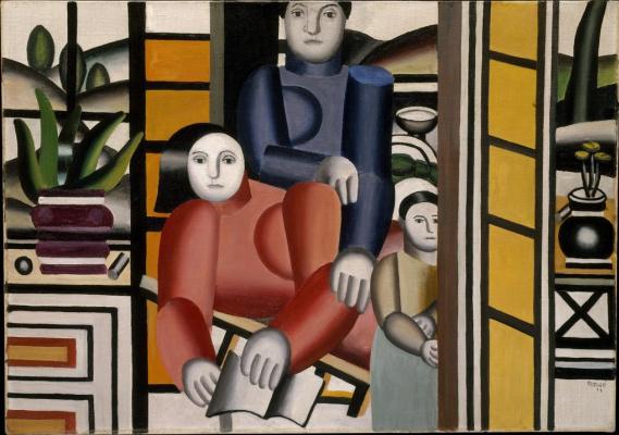 Fernand Leger. Women in the garden