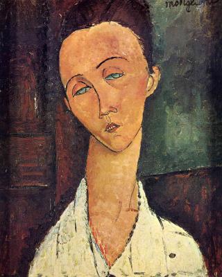Amedeo Modigliani. Portrait Of Chekhov Lunii