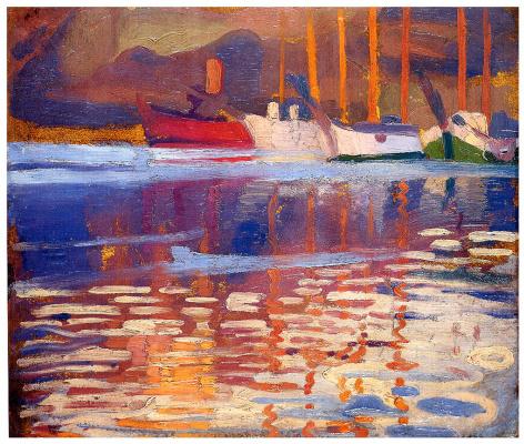Пер Даура. Лодки на воде