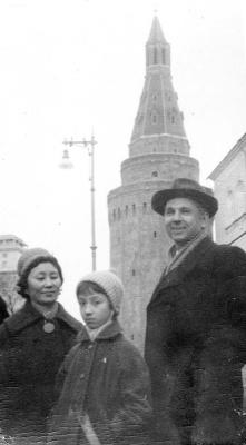 Nadezhda Nikolaevna Rusheva. Family Rosewich on red square
