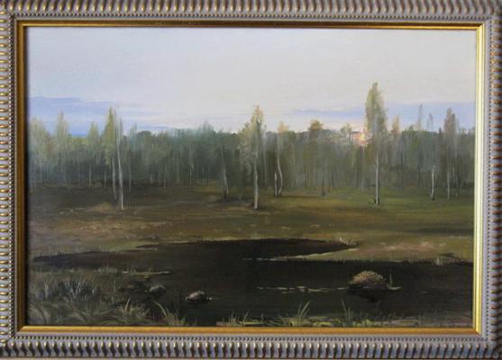 """Евгений Геннадиевич Лактионов. """"In the marshes"""""""
