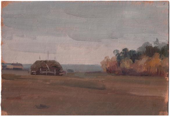 Arkady Pavlovich Laptev. Autumn day