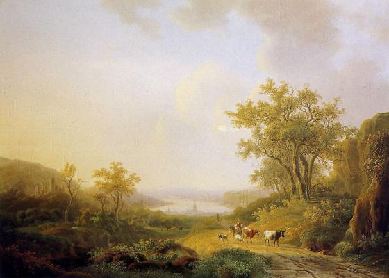 Виллем де Клерк. Летний пейзаж
