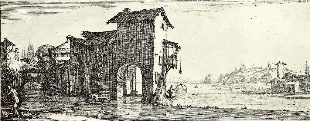 Jacques Kallo. Water mill