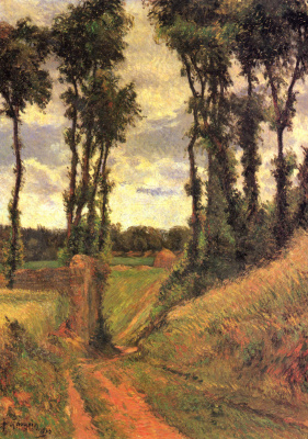 Paul Gauguin. Poplar One