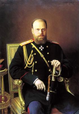 Ivan Nikolayevich Kramskoy. Portrait of Alexander III
