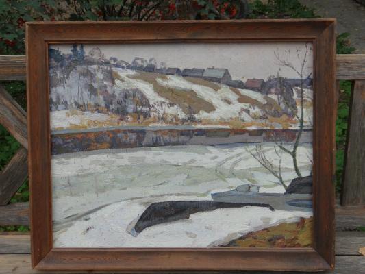 Александр Григорьевич Савичев. Село на холме