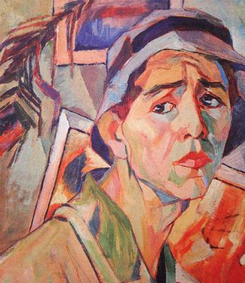 Alexander Alexandrovich Deineka. Self-portrait in Panama city