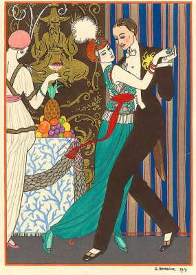 Georges Barbier. Dance