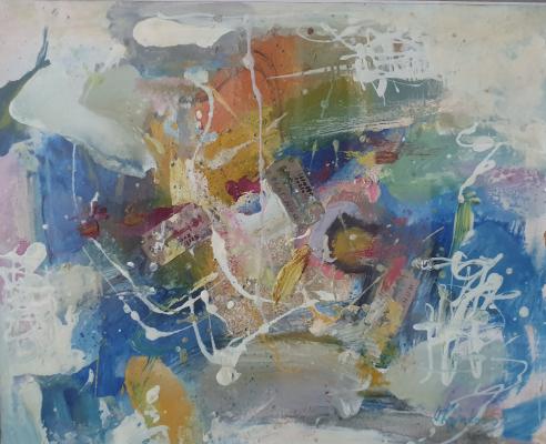 Vasily Ivanovich Kryukov. Improvisation number 11. van Gogh