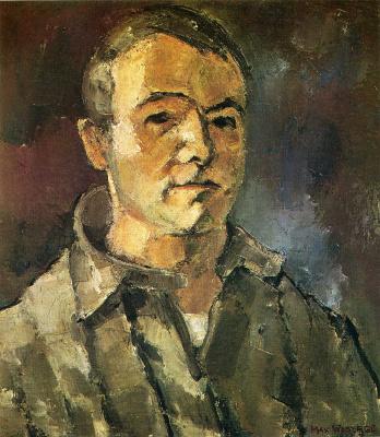 Макс Вебер. Мужской портрет