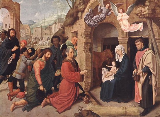 David Gerard. The adoration of the Magi