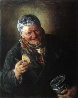Владимир Егорович Маковский. Дьячок