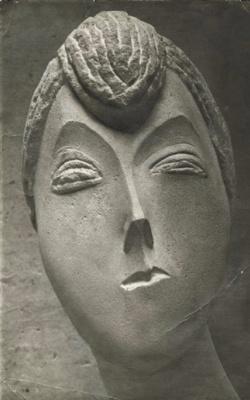 Constantine Brancusi. Portrait of a woman.