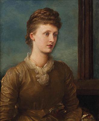 Джордж Фредерик Уоттс. Миссис Хиченс, урожд Мэри Эмили «Май» Принсеп, позже Леди Теннисон.