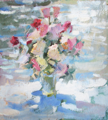 Ivan Grigorovich Voloshin. Bouquet