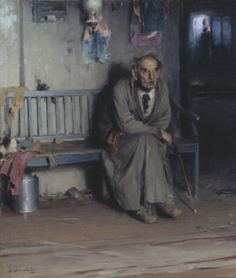 Abram Arkhipov. Old actor