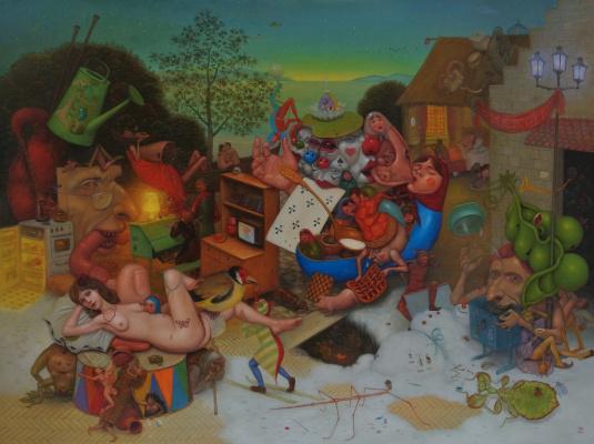 Михаил Лобырев. Puppet yard
