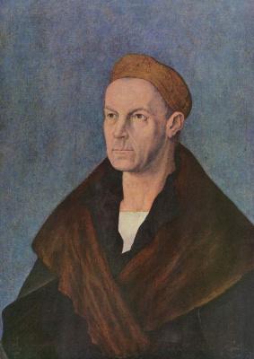 Albrecht Durer. Portrait Of Jakob Fugger