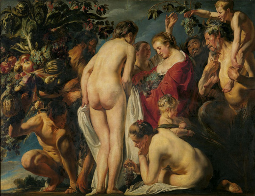 Jacob Jordaens. Allegory of Fertility