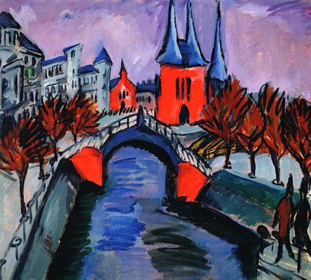 Ernst Ludwig Kirchner. Landscape