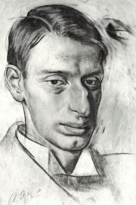 Alexander Yevgenyevich Yakovlev. Portrait Of Nikolai Ernestovich Radlov