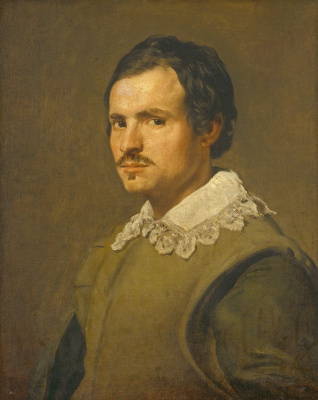 Diego Velazquez. Portrait of a young man