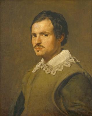 Diego Velazquez. Portrait of a young man
