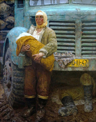 Heliy Mikhailovich Korzhev. On the road