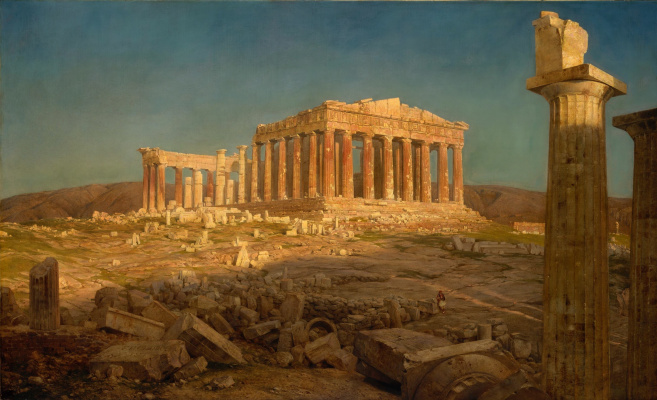 Frederick Edwin Church. Parthenon