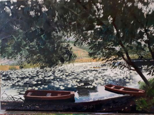 "Александр Сергеевич Кривонос. ""Boats"""