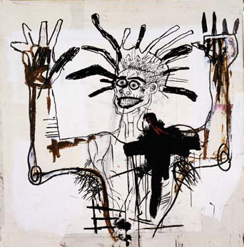 Jean-Michel Basquiat. Self-portrait